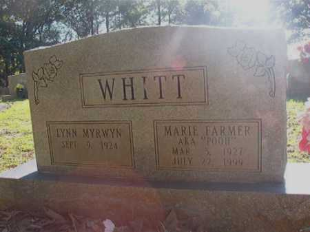 WHITT, MARIE - Columbia County, Arkansas | MARIE WHITT - Arkansas Gravestone Photos