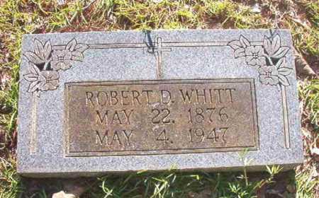 WHITT, ROBERT D - Columbia County, Arkansas | ROBERT D WHITT - Arkansas Gravestone Photos