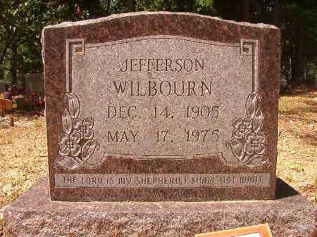 WILBOURN, JEFFERSON - Columbia County, Arkansas | JEFFERSON WILBOURN - Arkansas Gravestone Photos