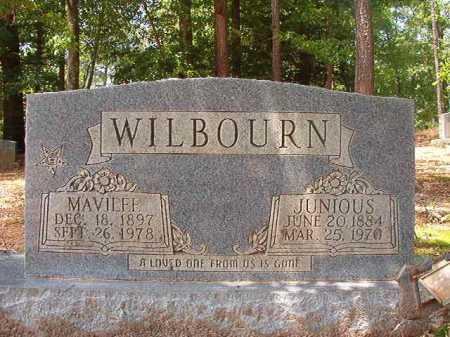 WILBOURN, MAVILEE - Columbia County, Arkansas | MAVILEE WILBOURN - Arkansas Gravestone Photos