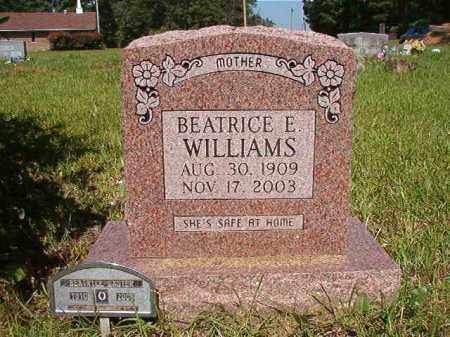 WILLIAMS, BEATRICE E - Columbia County, Arkansas | BEATRICE E WILLIAMS - Arkansas Gravestone Photos