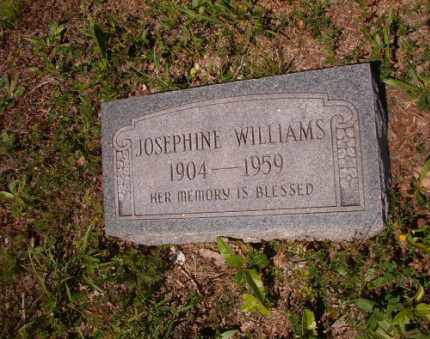 WILLIAMS, JOSEPHINE - Columbia County, Arkansas | JOSEPHINE WILLIAMS - Arkansas Gravestone Photos