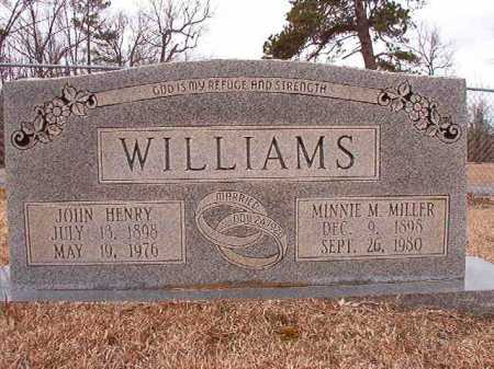 WILLIAMS, MINNIE M - Columbia County, Arkansas | MINNIE M WILLIAMS - Arkansas Gravestone Photos