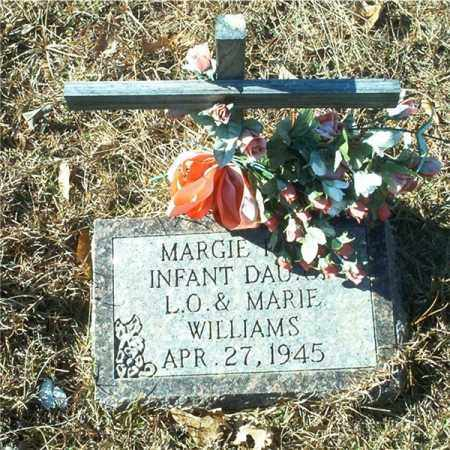 WILLIAMS, MARGIE FAYE - Columbia County, Arkansas | MARGIE FAYE WILLIAMS - Arkansas Gravestone Photos