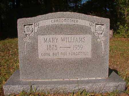 WILLIAMS, MARY - Columbia County, Arkansas | MARY WILLIAMS - Arkansas Gravestone Photos