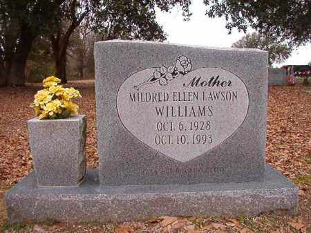 LAWSON WILLIAMS, MILDRED ELLEN - Columbia County, Arkansas | MILDRED ELLEN LAWSON WILLIAMS - Arkansas Gravestone Photos