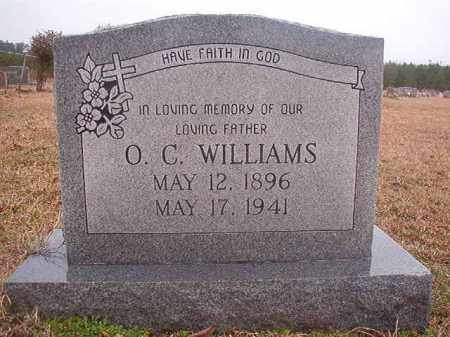 WILLIAMS, O C - Columbia County, Arkansas | O C WILLIAMS - Arkansas Gravestone Photos