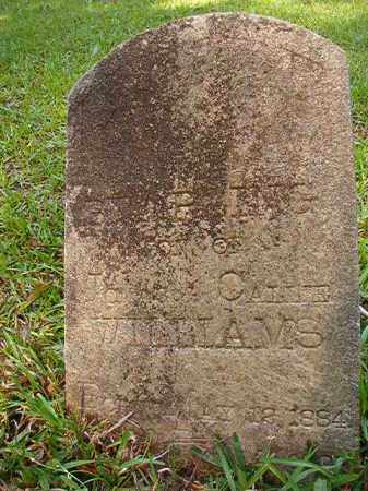 WILLIAMS, STARLING - Columbia County, Arkansas | STARLING WILLIAMS - Arkansas Gravestone Photos