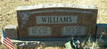 WILLIAMS, MARGIE MARIE - Columbia County, Arkansas | MARGIE MARIE WILLIAMS - Arkansas Gravestone Photos