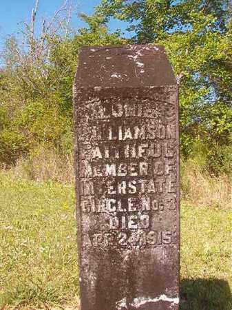 WILLIAMSON, LONIE - Columbia County, Arkansas | LONIE WILLIAMSON - Arkansas Gravestone Photos