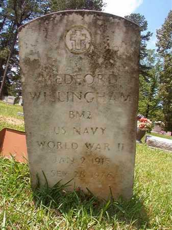 WILLINGHAM (VETERAN WWII), MEDFORD - Columbia County, Arkansas | MEDFORD WILLINGHAM (VETERAN WWII) - Arkansas Gravestone Photos