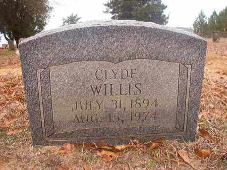 WILLIS, CLYDE - Columbia County, Arkansas | CLYDE WILLIS - Arkansas Gravestone Photos