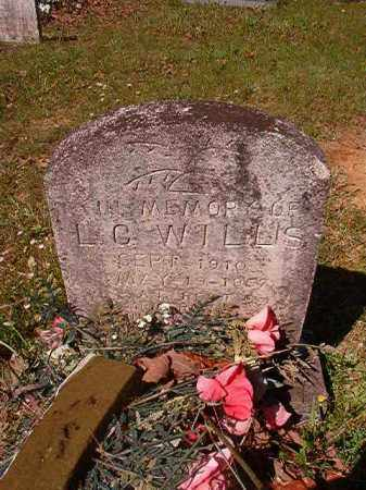 WILLIS, L C - Columbia County, Arkansas | L C WILLIS - Arkansas Gravestone Photos