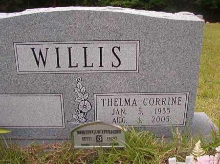 WILLIS, THELMA CORRINE - Columbia County, Arkansas | THELMA CORRINE WILLIS - Arkansas Gravestone Photos