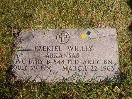 WILLIS (VETERAN), EZEKIAL - Columbia County, Arkansas | EZEKIAL WILLIS (VETERAN) - Arkansas Gravestone Photos