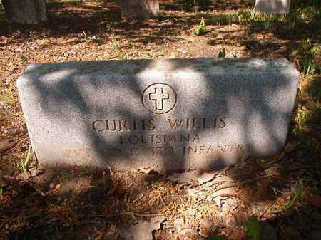 WILLIS (VETERAN WWII), CURTIS - Columbia County, Arkansas | CURTIS WILLIS (VETERAN WWII) - Arkansas Gravestone Photos