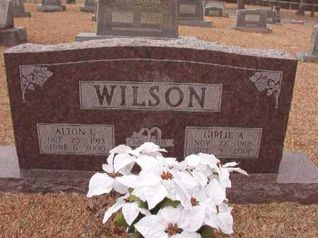 WILSON, GIRLIE A - Columbia County, Arkansas | GIRLIE A WILSON - Arkansas Gravestone Photos