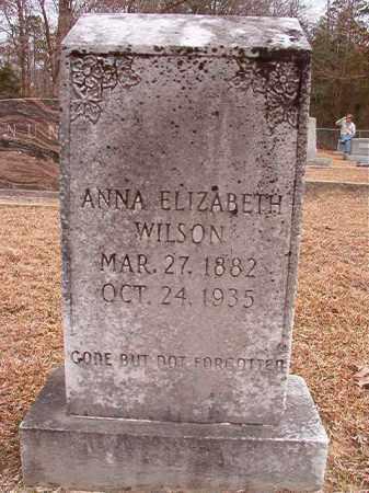 WILSON, ANNA ELIZABETH - Columbia County, Arkansas | ANNA ELIZABETH WILSON - Arkansas Gravestone Photos