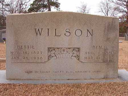 WILSON, BETTIE - Columbia County, Arkansas | BETTIE WILSON - Arkansas Gravestone Photos