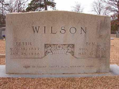 WILSON, BEN B - Columbia County, Arkansas | BEN B WILSON - Arkansas Gravestone Photos