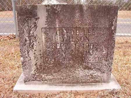 WILSON, CLYDE LEE - Columbia County, Arkansas   CLYDE LEE WILSON - Arkansas Gravestone Photos