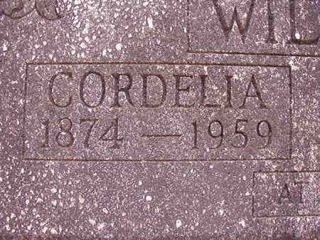 WILSON, CORDELIA - Columbia County, Arkansas | CORDELIA WILSON - Arkansas Gravestone Photos