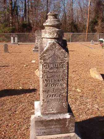 WILSON, CLAUDIE - Columbia County, Arkansas | CLAUDIE WILSON - Arkansas Gravestone Photos