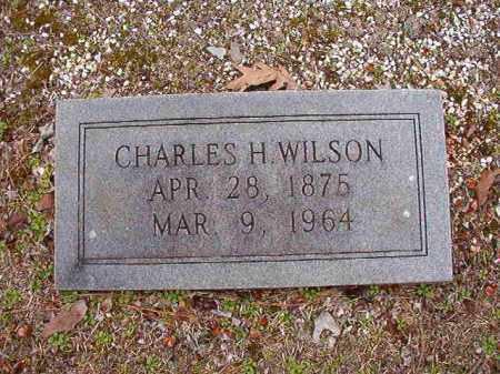 WILSON, CHARLES H - Columbia County, Arkansas | CHARLES H WILSON - Arkansas Gravestone Photos