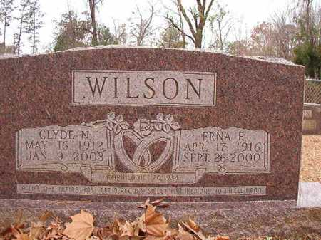 WILSON, ERNA E - Columbia County, Arkansas | ERNA E WILSON - Arkansas Gravestone Photos