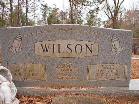 WILSON, DOT - Columbia County, Arkansas | DOT WILSON - Arkansas Gravestone Photos