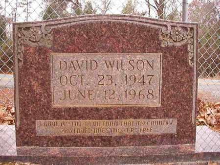 WILSON, DAVID - Columbia County, Arkansas | DAVID WILSON - Arkansas Gravestone Photos