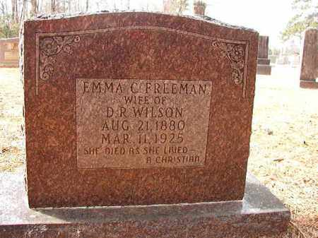 FREEMAN WILSON, EMMA C - Columbia County, Arkansas | EMMA C FREEMAN WILSON - Arkansas Gravestone Photos