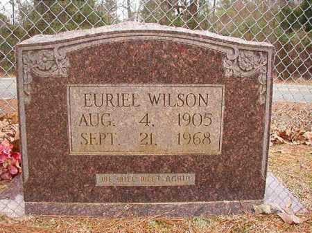 WILSON, EURIEL - Columbia County, Arkansas | EURIEL WILSON - Arkansas Gravestone Photos