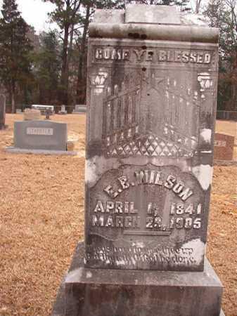 WILSON, E B - Columbia County, Arkansas | E B WILSON - Arkansas Gravestone Photos