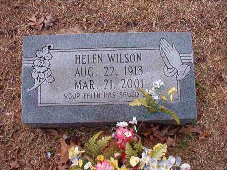 WILSON, HELEN - Columbia County, Arkansas | HELEN WILSON - Arkansas Gravestone Photos
