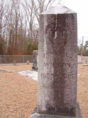 WILSON, HENRY L - Columbia County, Arkansas | HENRY L WILSON - Arkansas Gravestone Photos