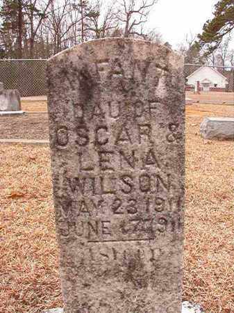 WILSON, INFANT DAUGHTER - Columbia County, Arkansas | INFANT DAUGHTER WILSON - Arkansas Gravestone Photos