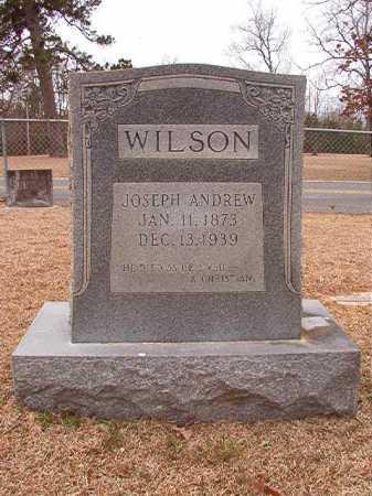 WILSON, JOSEPH ANDREW - Columbia County, Arkansas | JOSEPH ANDREW WILSON - Arkansas Gravestone Photos