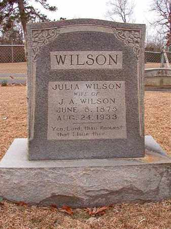 WILSON, JULIA - Columbia County, Arkansas | JULIA WILSON - Arkansas Gravestone Photos