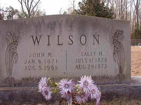 WILSON, SALLY H - Columbia County, Arkansas | SALLY H WILSON - Arkansas Gravestone Photos