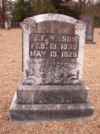 WILSON, J F - Columbia County, Arkansas | J F WILSON - Arkansas Gravestone Photos