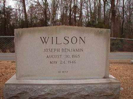 WILSON, JOSEPH BENJAMIN - Columbia County, Arkansas | JOSEPH BENJAMIN WILSON - Arkansas Gravestone Photos