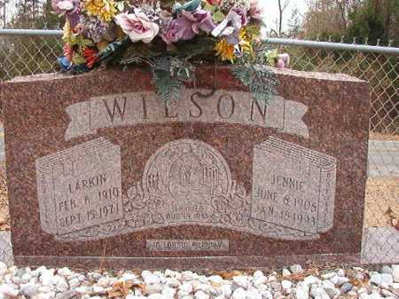 WILSON, LARKIN - Columbia County, Arkansas | LARKIN WILSON - Arkansas Gravestone Photos