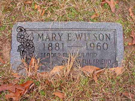 WILSON, MARY E - Columbia County, Arkansas | MARY E WILSON - Arkansas Gravestone Photos