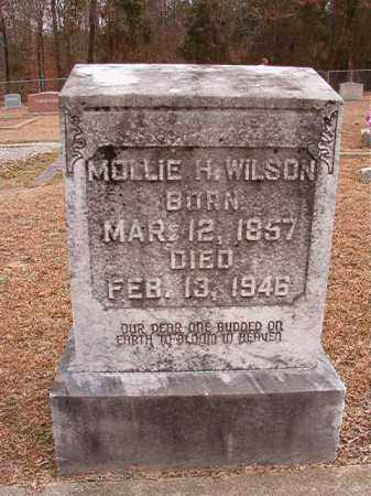 WILSON, MOLLIE H - Columbia County, Arkansas | MOLLIE H WILSON - Arkansas Gravestone Photos