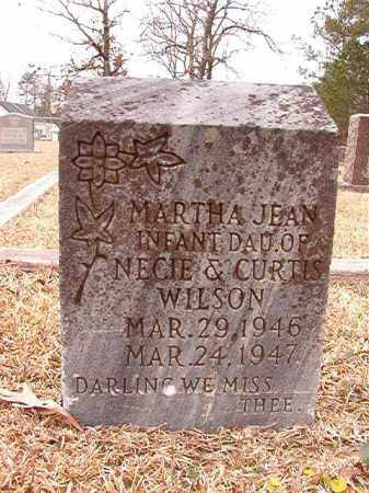 WILSON, MARTHA JEAN - Columbia County, Arkansas | MARTHA JEAN WILSON - Arkansas Gravestone Photos