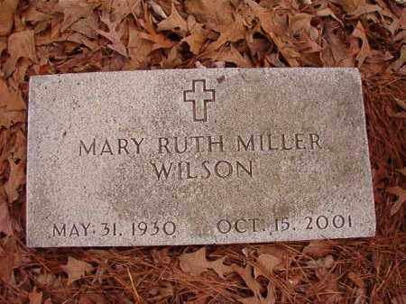 MILLER WILSON, MARY RUTH - Columbia County, Arkansas | MARY RUTH MILLER WILSON - Arkansas Gravestone Photos