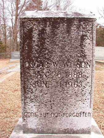 WILSON, OSCAR W - Columbia County, Arkansas | OSCAR W WILSON - Arkansas Gravestone Photos