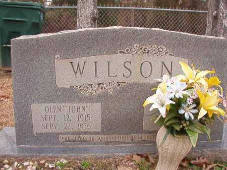 "WILSON, OLEN ""JOHN"" - Columbia County, Arkansas 