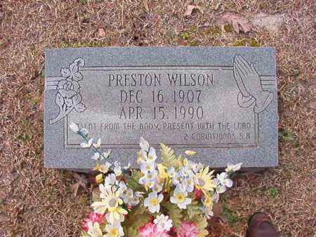 WILSON, PRESTON - Columbia County, Arkansas | PRESTON WILSON - Arkansas Gravestone Photos